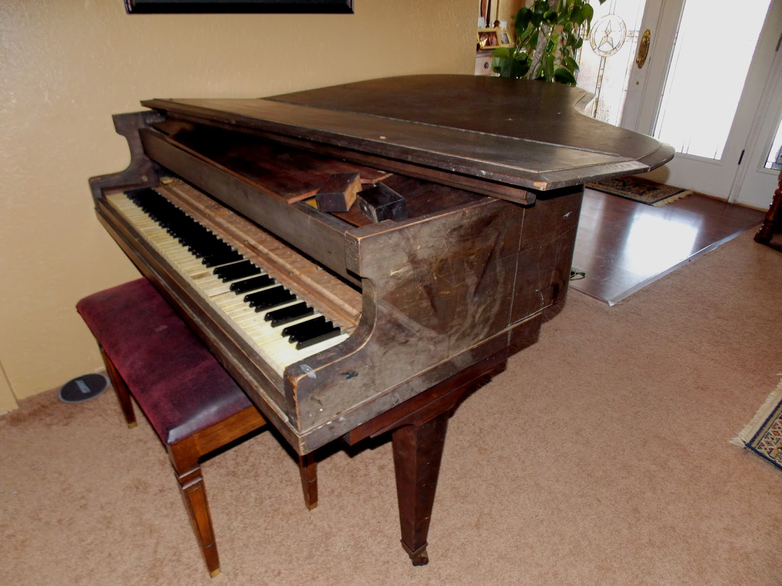 Take an Unwanted Antique Piano